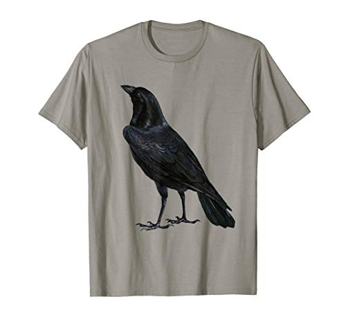 Halloween Shirt Raven Black Bird Halloween Costume -