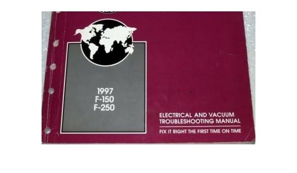 1997 Ford Truck F 150 250 F250 Wiring Electrical Diagram Manual Evtm Ewd Paperback