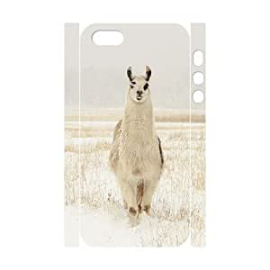 Custom 3D Case for Iphone 5,5S with Alpaca shsu_1966859 at SHSHU