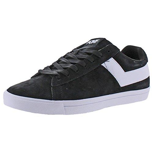 Pony Top Star Men's Retro Fashion Court Sneakers Shoes Black White Size ()