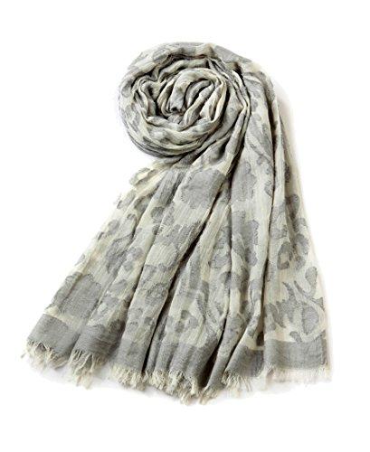 EUPHIE YING Women's Classy Cotton Scarves Fashion Shawl Wrap, Jacquard by EUPHIE YING (Image #1)