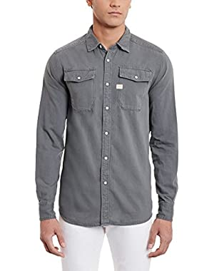 Men's Landoh Lightweight Long Sleeve Button Down Shirt
