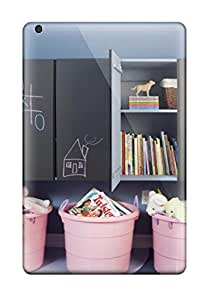Alicia Russo Lilith's Shop High Grade Flexible Tpu Case For Ipad Mini 3 - Chalkboard Paint On Storage Cabinets 6932513K78789358