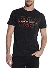 Herren T-Shirt Star Wars Rot Neppy