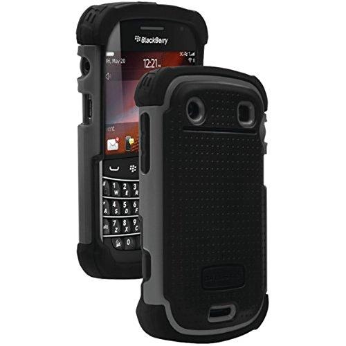 Ballistic SA0607-M315 Shell Gel Series Case for BlackBerry Bold Touch 9900/9930 - Black/Gray - (Bulk - Bold Hardcore
