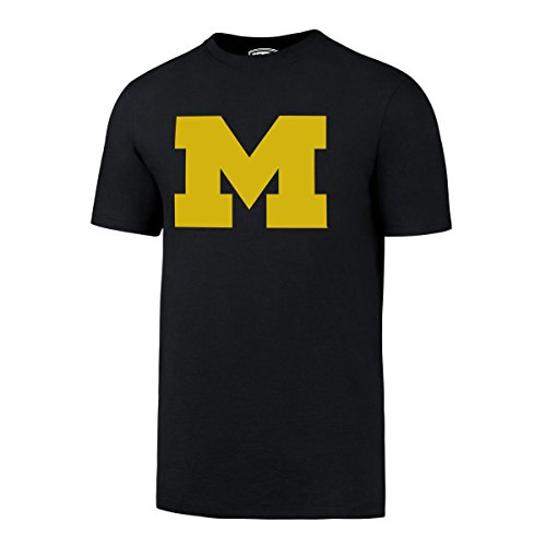 Michigan Wolverines Ncaa Basketball - NCAA Michigan Wolverines Men's OTS Rival Tee, X-Large, Fall Navy