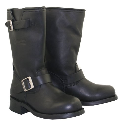Black Biker Boots For Women - 9