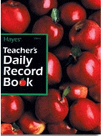 Teachers Daily Record Book 40 by Hayes School Publishing ()