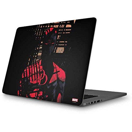 Skinit Marvel Daredevil MacBook Pro 15 (2012-15 Retina Display) Skin - Daredevil Hides In The Shadows Design - Ultra Thin, Lightweight Vinyl Decal Protection ()