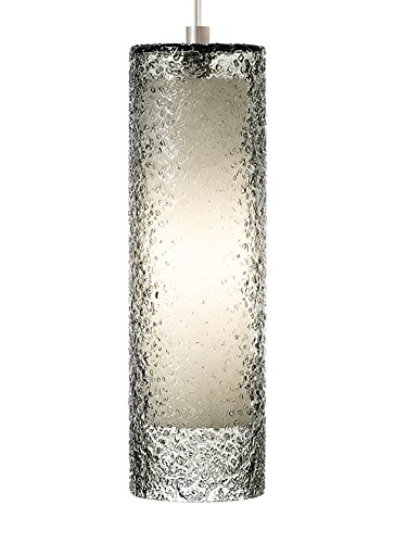 (LBL Lighting PF553SMSCPSUNV Rock Candy Cylinder Pendant 4.80)