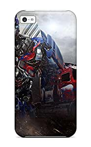 Fashion Tpu Case For Iphone 5c- Transformers Age Of Extinction Defender Case Cover