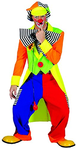 Spanky Stripes Adult Clown Costumes - Funny Fashion Spanky Stripes Adult Clown