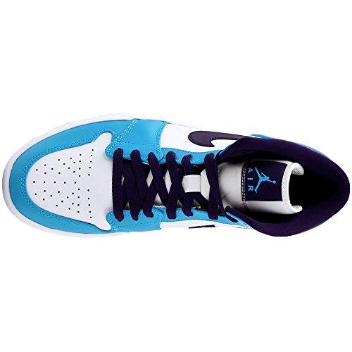 Lagon Bleu Chaussure Nike Air Homme nbsp;Mid 1 Violet Grand Jordan nagH4