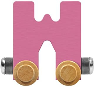 product image for Maple Landmark NameTrain Pastel Letter Car W - Made in USA (Pink)