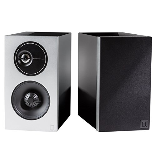 Definitive Technology Demand Series D7 High-Performance Bookshelf Speakers - Pair (Black) by Definitive Technology