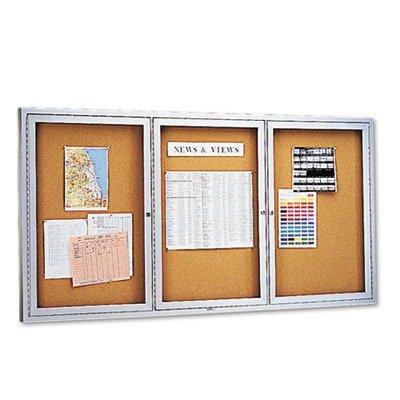 Enclosed Indoor Cork Message Board