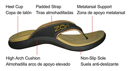 13a41c2f4 Neat Feat Men s Zori Sport Orthotic Slip-On Sandals Flip Flop - Buy ...