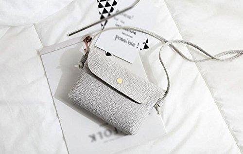 wicemoon PU bolsa bolso de mano bolso de mano Funda Tipo Cartera Bolsa de cosméticos bolsa de almacenamiento bolso de almacenamiento para las mujeres Lady