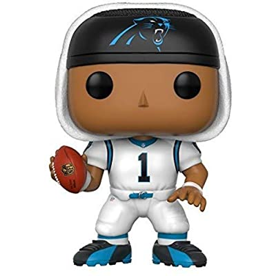 Funko POP NFL: Cam Newton (Panthers White) Collectible Figure: Funko Pop! Sports:: Toys & Games