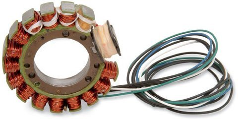 (1978-1981 HONDA CX500 RICK'S ELECTRIC, OE STYLE STATOR, Manufacturer: RICKS, Manufacturer Part Number: 21-123-AD, Stock Photo - Actual parts may vary.)