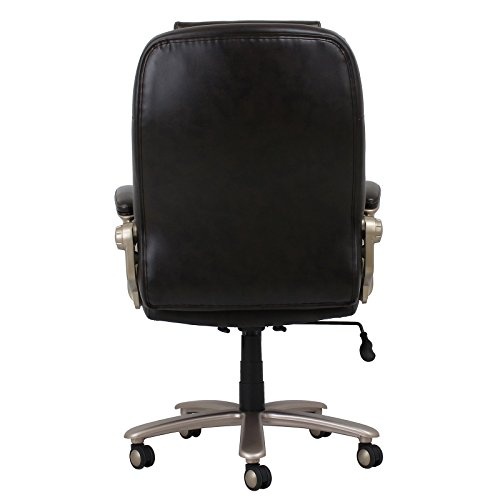 Ofm leather executive office chair home and office chairs for Home office chairs leather