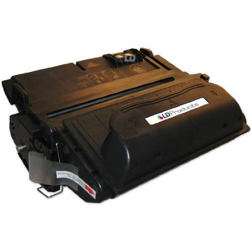 LD © Remanufactured Replacement Laser Toner Cartridge for Hewlett Packard Q1338A (HP 38A) Black, Office Central