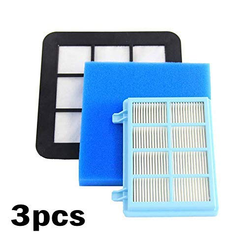 3pcs Replacement Filter Set for Philips FC9331/09 FC9332/09 FC8010/01 Vacuum Cleaner