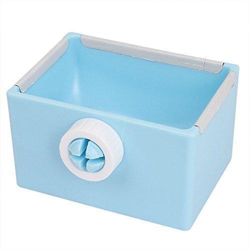 sourcingmap® Haustier Katze Kaninchen Günstigen Hundefutter Wasser Futterspender Schale Feste Napf Hellblau
