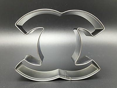 Apple Logo,snoopy,Batman,shark,stool,Girdle,stainless steel Cookie Cutter (Shape:Chanel)