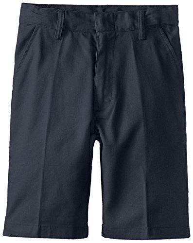Genuine Big Boys Boys Flat Front Twill Short, Navy,10 - Genuine Boys Shorts
