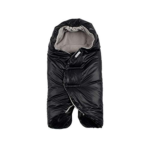 (7 A.M. Enfant Nido Quilted (Black, Large))