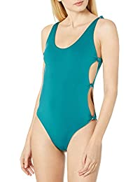 Women's Indian Summer Reversible Solid Open-Side One Piece Swimsuit