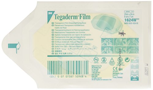 3m Tegaderm Transparent Film Dressing 2.375