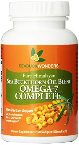Sea Buckthorn Oil Blend, Omega-7 Complete (Pack of 3) by Seabuckwonders