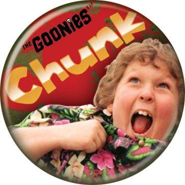 The Goonies - Chunk - Pinback Button 1.25