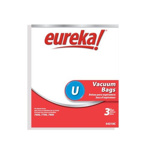 Genuine Eureka Style U Disposable Vacuum Bag 54310C - 3 (Eureka Upright Series)