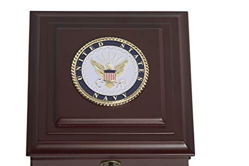 Allied Frame Us Navy Medallion Desktop Box