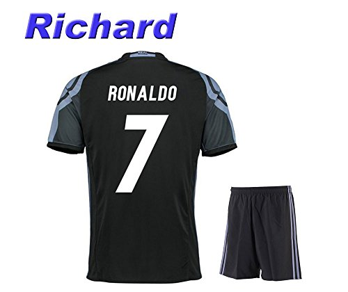 2016 Real Madrid Third Ronaldo #7 Adult 2016-2017 with Free Short a Set (Small) (Merchandise Genuine Jersey)