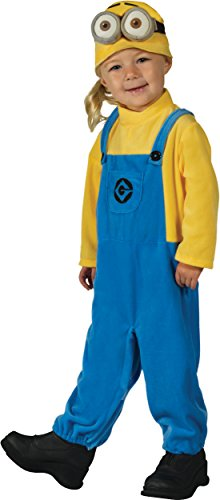 Costume Despicable From Me Minion (Rubie's Costume Despicable Me 3 Minion Dave Costume,)