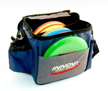Innova Champion Discs Standard Bag, Blue/Gray