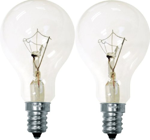 GE Crystal Clear 71395 60-Watt, 635-Lumen A15 Light Bulb wit