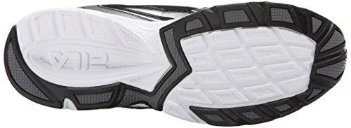 Fila Xtent 2 Zapatilla deportiva Black/White/Dark Silver