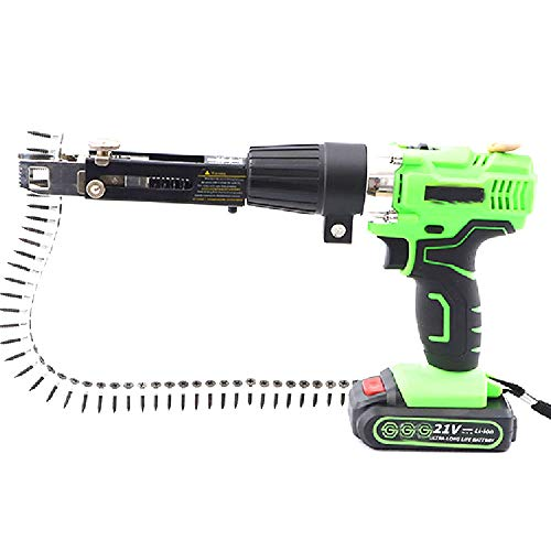 Automatic Screw Chain Nail Gun Electric Drill Woodworking Tool Nail Guns Adapter Screw Gun