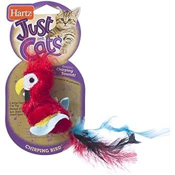 Amazon Com Hartz Just For Cats Chirping Bird Interactive