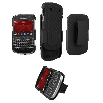 Bold Holster - New OEM Verizon Blackberry Bold 9930 Shell Holster Combo w/ Kickstand