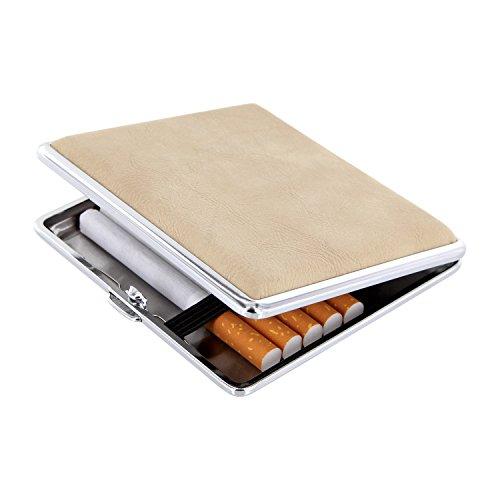 8 20 Per Elegante Metallo Portasigarette Variante 1 Sigarette In IZZq4xw8