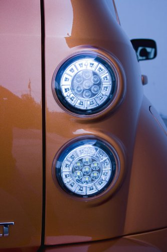 IPCW LEDT-353C Crystal Clear LED Tail Lamp Pair 03-00-LEDT-353C