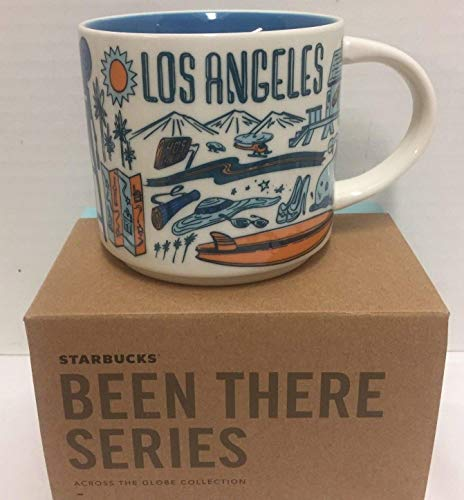 Starbucks Coffee Mug - Been There Series Across The Globe (Los Angeles) (Mug California)