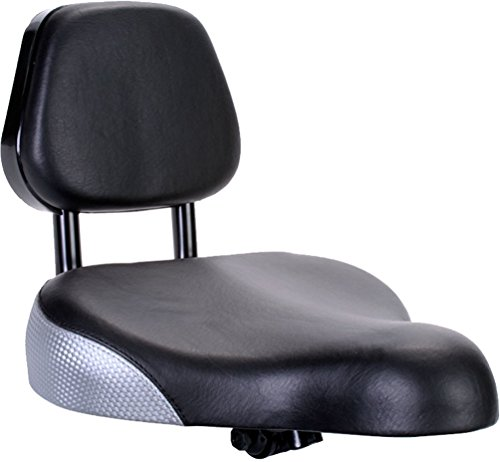 Sunlite Backrest Saddle, 9 x 11″, Black