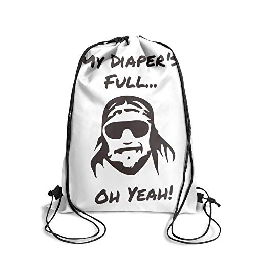 Cool Outdoor Use Travel Drawstring Backpack Cinch for Man -